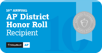 SHSD Placed on College Board's AP District Honor Roll
