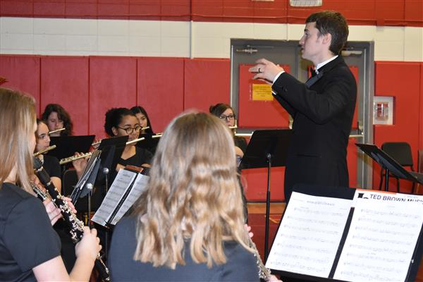 musice director and student musicians