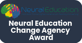 Dr. Kathi Weight Receives Neural Education Change Agency Award