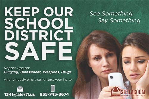 District Safe Schools Poster