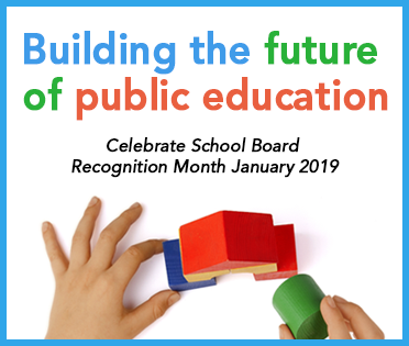 school board recognition graphic