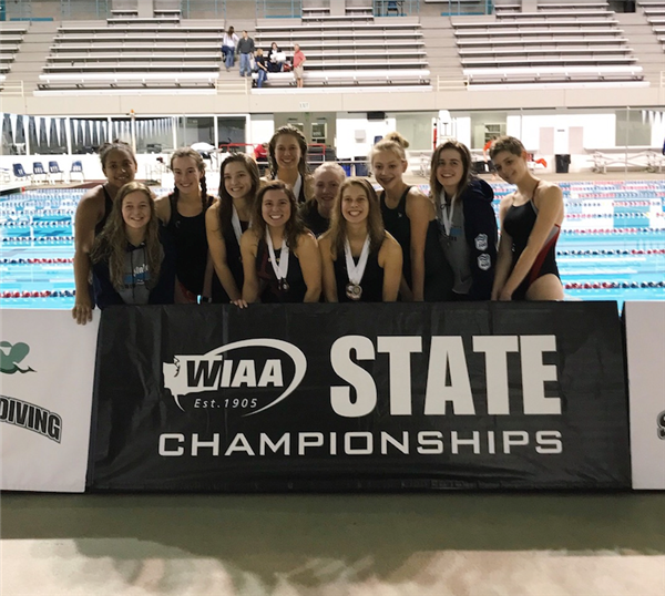 swimmers at state