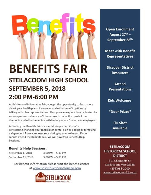 Sept 5 Benefit Fair Flyer