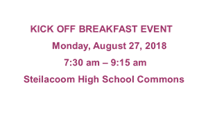 breakfast 8.27.18 announcement