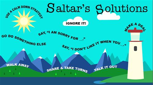 Saltar's Solutions poster